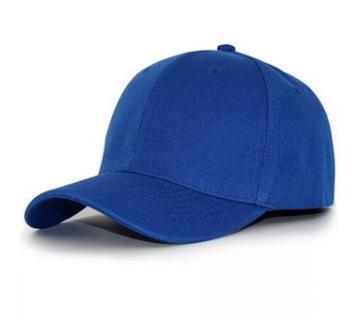 Blue Stylish Cotton Cap For Men
