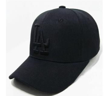 LA কটন ক্যাপ ফর মেন - Black