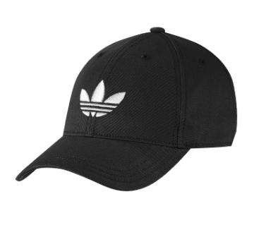 Black And White Adidas Cap For Men