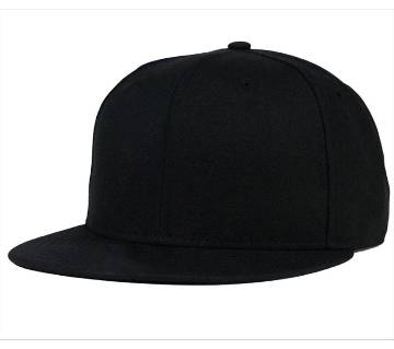 Cotton Dj Cap For Men - Black