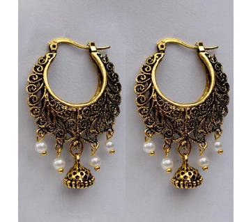 Multi Color Indian Antique Earrings For Ladies