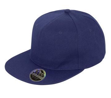 Navy Blue Dj Cotton Cap For Men