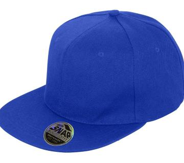 Blue Cotton Dj Hip Hop Cap For Men
