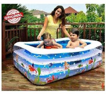 Inflatable Baby Swimming Pool With Pumper