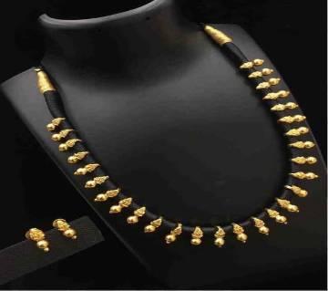 Indian Joypuri 1st Grade Gold Plated Necklace Set