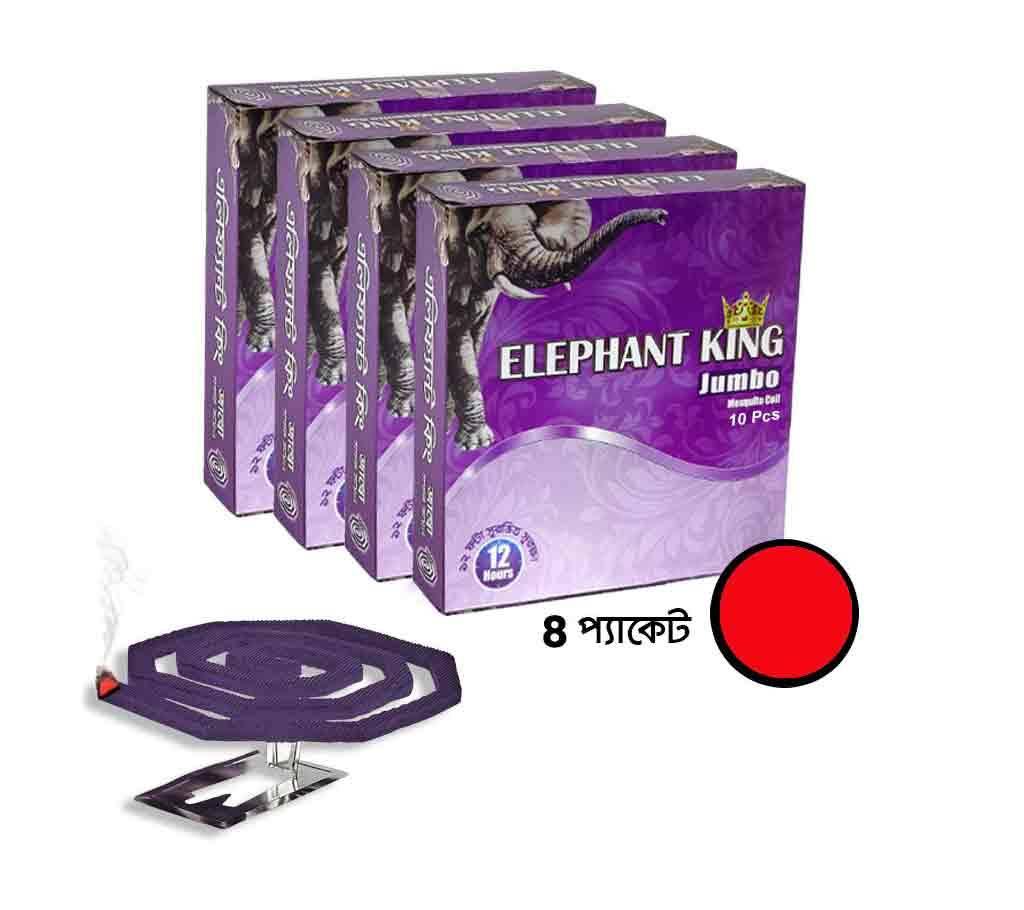 Elephant King Jumbo কয়েল  (৪ প্যাকেট, ৪০ পিস) বাংলাদেশ - 1097730