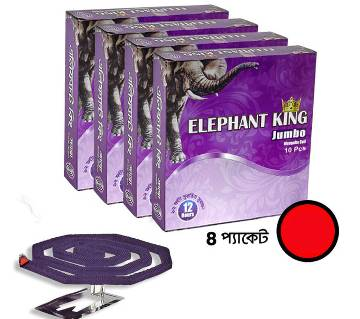 Elephant King Jumbo Coil (4 packets, 40 Pieces)