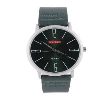 Analog Wrist Watch for Men-Deep Green