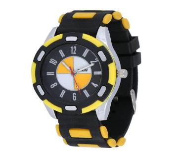 BNW Analog Wrist Watch for Men-Yellow