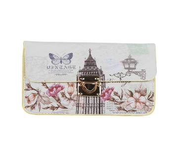 Off White Clutch for Women