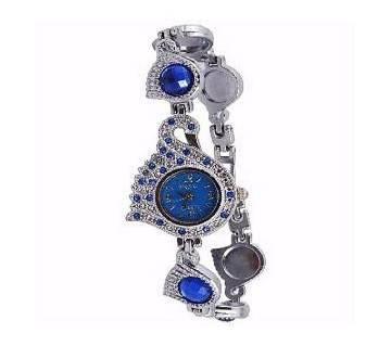Stainless Steel Bracelet Watch for Women-Blue