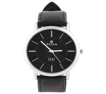 Analog Wrist Watch for Men - Black