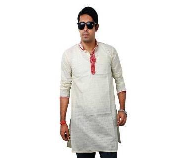 Gents Akhi Cotton Short Punjabi