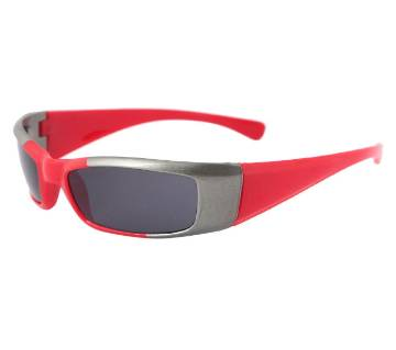 Red and Silver Color Sunglasses For Kids