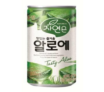 Woongjin Zaiyeonun Aloe Juice Can - 180ml (2 Cans)