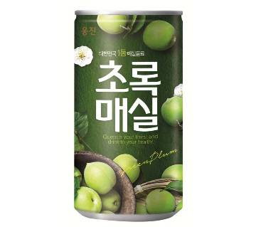 Woongjin Green Plum Juice Can - 180ml (2 Cans)