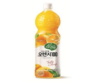 Woongjin Zaiyeonun অরেঞ্জ জুস - Pet 1.5 L
