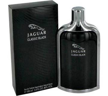 Jaguar Perfume Classic Black perfume for men -100ml France