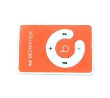 Mini MP3 Player Monster Design - Orange