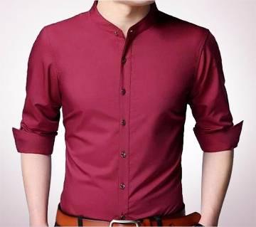 Crimson Panama জেন্টস ফুল স্লিভ ক্যাজুয়াল শার্ট