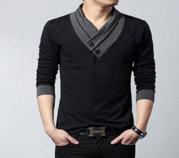 Gents Full Sleeve Cotton T-Shirt