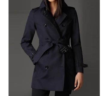 Ladies Full Sleeve Long Winter Over Coat