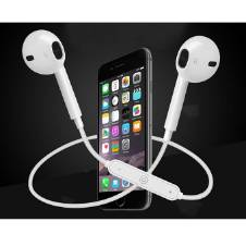 Wireless Bluetooth Sports Stereo Headset - White