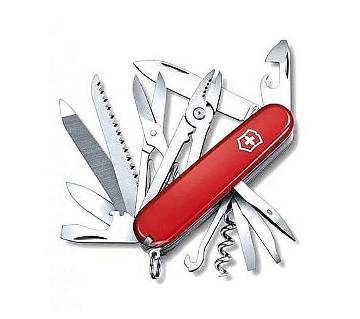 MacGyver Multi-functional Knife - Red