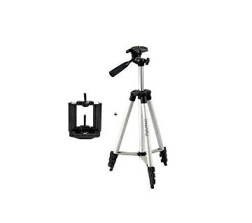 Aluminum Alloy Tripod For Camera and Mobile - 3110