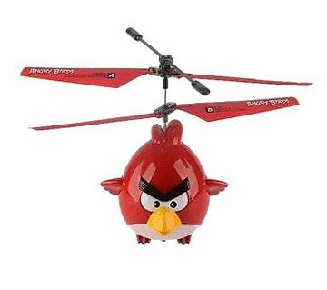 Flying Angry Bird Toy For Kids - Red