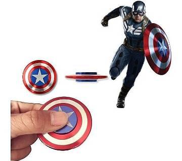 Captain America Shield Round Fidget Spinner