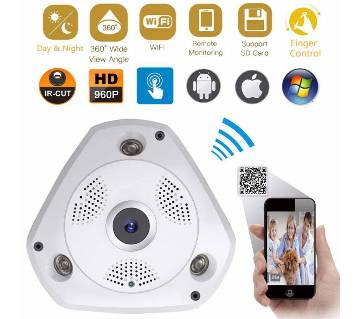 PANORAMIC 3D VR CCTV ক্যামেরা