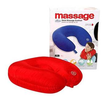Ultimate Nack Massage Pillow - Red