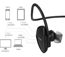 Awei A840BL Universal Sport Wireless Bluetooth v4.0 Headphone - Black বাংলাদেশ - 6699963