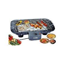 Electric Barbecue Grill - Black