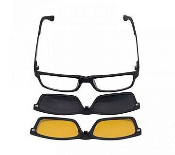 3 In 1 Magnetic Changable Night Vision Glasses