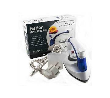 Hetian Portable Travel Iron - White and Blue