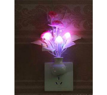 Dim Mashroom Light Flower - Multicolor