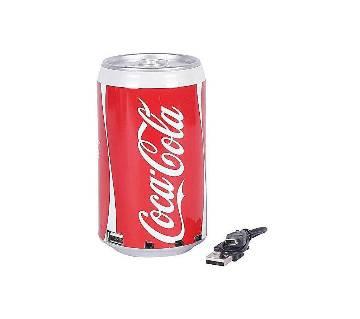Coca Cola Can Multimedia speaker MP3 FM Radio USB Rechargeable