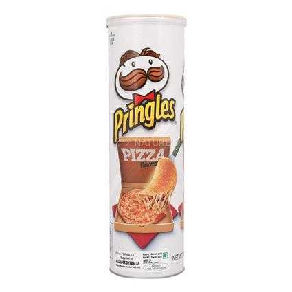 Pringles Potato Chips Pizza Flavour 158 gm