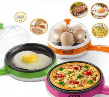 MULTIFUNCTIONAL EGG BOILER AND FRY PAN