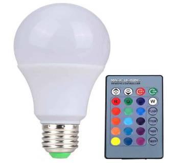 16 কালার LED রিমোট বাল্ব / ল্যাম্প (৫ ওয়াট)