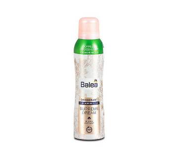 Balea Supreme Dream বডি স্প্রে ফর উইমেন 200 ml = 400ml (জার্মানি)