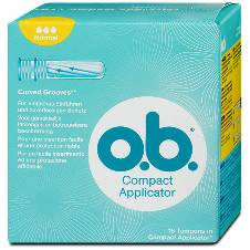 O.B. Tampons Compact Applicator super - Sanitary Napkin - 16pc
