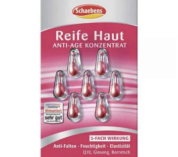 Schaebens Anti-age Concentrate Mature Skin Q10 capsule - 7pc (Germany)