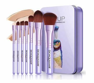 BIOAQUA Soft Fiber Foundation Makeup Brushes Set - 7 Pieces