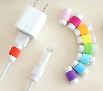 2pcs USB Cable Protector Saver Earphone Cord  Protection Sleeve - 1 piece