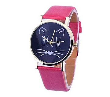 Girls Station Pink Analogue Watch for Women