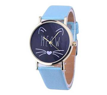 Girls Station Sky Blue Analogue Watch for Women
