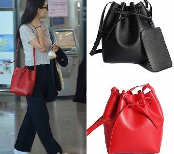 Artificial Leather Ladies handbag
